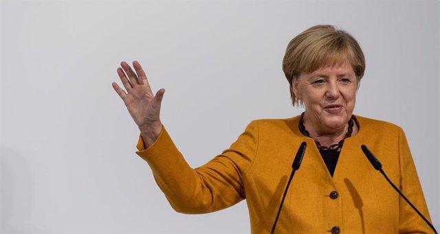 Foto de archivo de la canciller alemana Angela Merkel