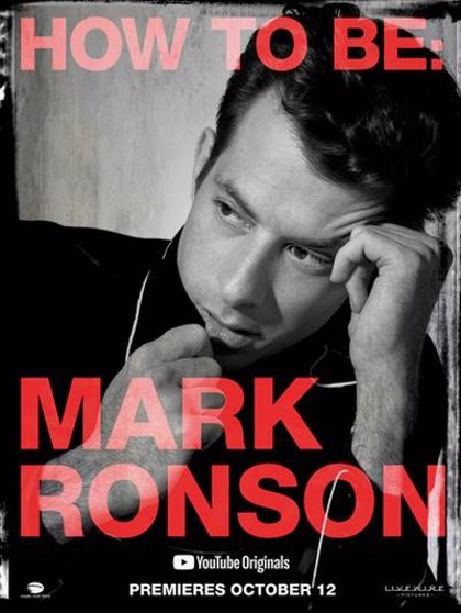 Mark Ronson, protagonista de un nuevo documental de YouTube Originals