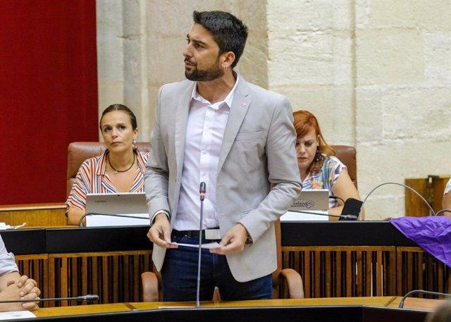El parlamentario de Adelante Andalucía Ismael Sánchez
