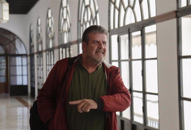 El diputado del grupo parlamentario Adelante Andalucía Nacho Molina en una foto de archivo