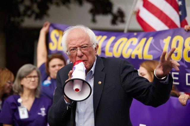 EEUU.- Sanders bajará el ritmo de su campaña tras sufrir un ataque al corazón