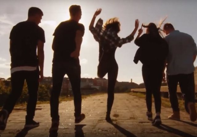 Captura del vídeo 'Rap Jóvenes. Por un Mundo + Justo'