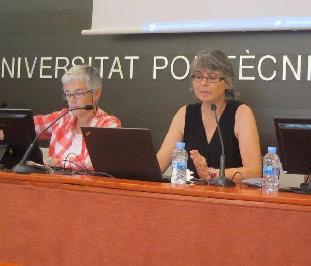 Vera Sacristan (OSU) y Helena Troiano (UAB)
