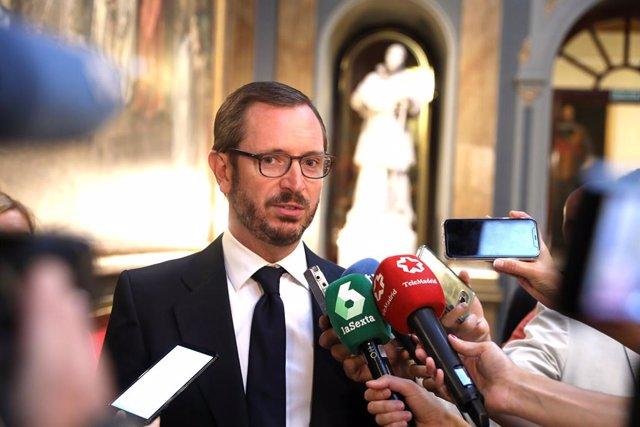 """Maroto asegura que Sánchez está """"consintiendo"""" la estrategia de Torra después de"""