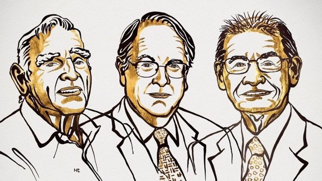 Guanyadors del Nobeld i Químia 2019