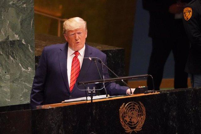 Donald Trump en la Asamblea General de la ONU