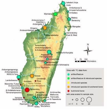 Madagascar registró presencia humana desde hace 11.000 años