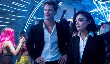 Chris Hemsworth y Tessa Thompson derrochan química espacial en Men in Black: International, ya en DVD, Blu-ray y 4K UHD