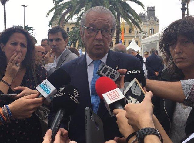 El president del Saló Nàutic, Luis Conde