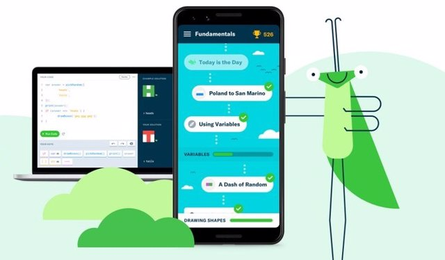 Google lanza la versión de escritorio de su herramienta Grasshopper para enseñar