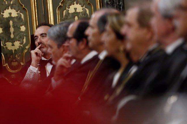 Apertura del año judicial 2019/2020 en el Palacio de Justicia