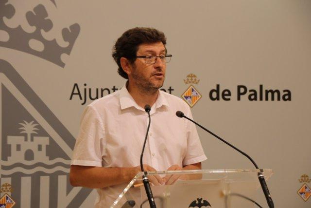 El portavoz del Ayuntamiento de Palma, Alberto Jarabo.