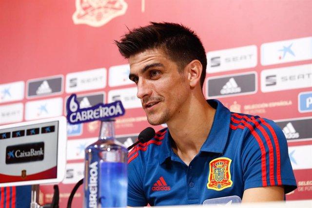"""Fútbol/Selección.- Gerard Moreno: """"No creo que pueda haber un pichichi español e"""