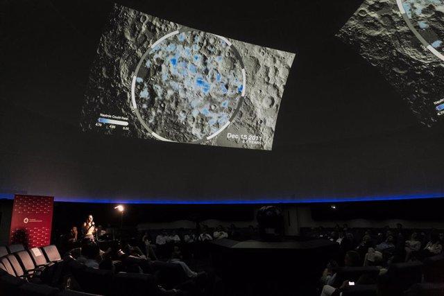 Moonchallenge by FUE. Planetario de Madrid