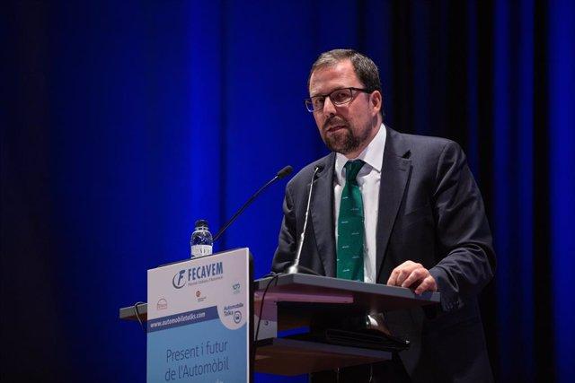 El secretario general de Industria y Pyme, Raül Blanco