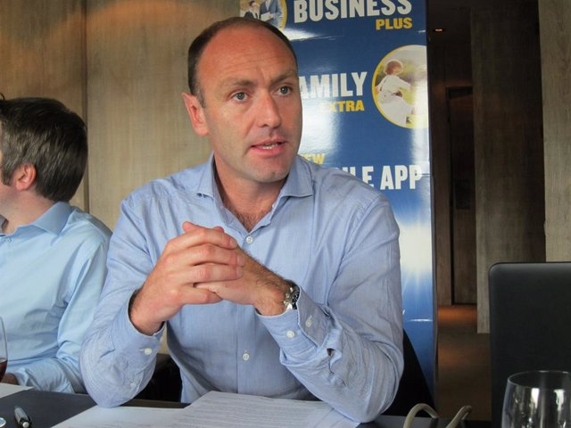 El responsable de marketing de Ryanair, Kenny Jacobs