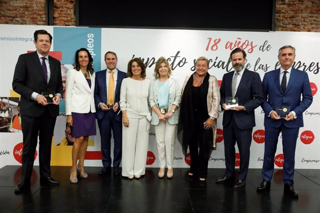 Fundación Integra reconoce a 13 empresas comprometidas con el empleo socialmente responsable