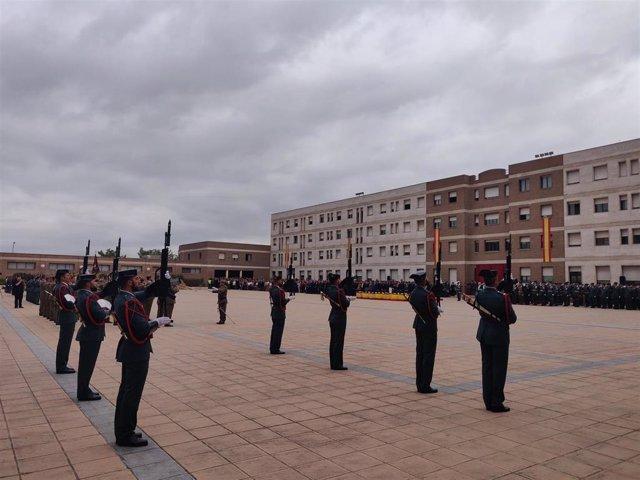 Acto de celebración de la Patrona de la Guardia Civil en Catalunya en la comandancia de Sant Andreu de la Barca (Barcelona)