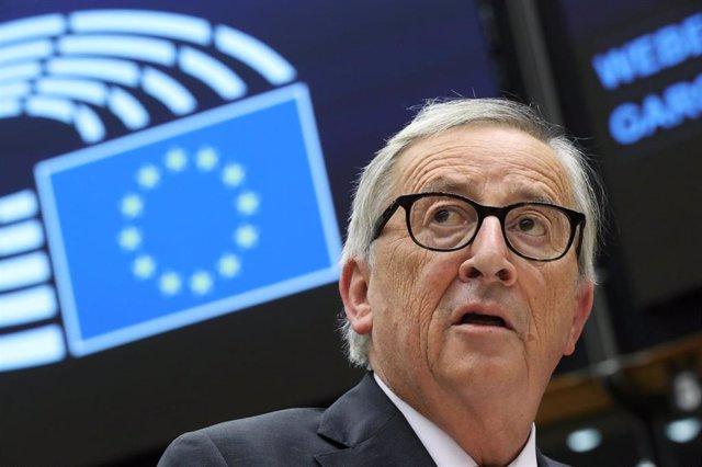foto de archivo del Presidente de la Comisión Europea