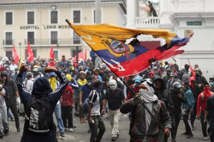 Ecuador.- Moreno regresará a Quito junto a los ministros de Interior y Defensa para seguir allí la jornada de protestas