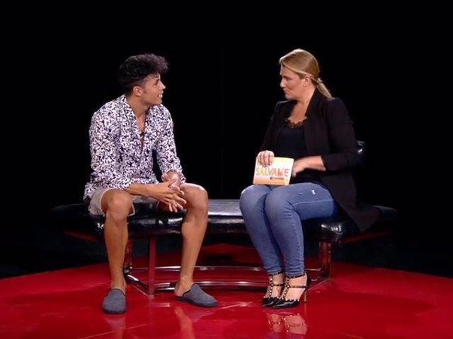 Kiko Jiménez se encuentra con Carlota Corredera en la casa de 'GH VIP 7'