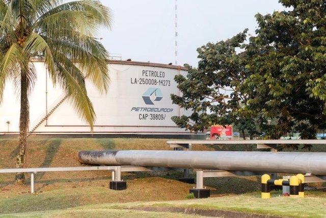 Instalaciones de la petrolera estatal ecuatoriana Petroecuador