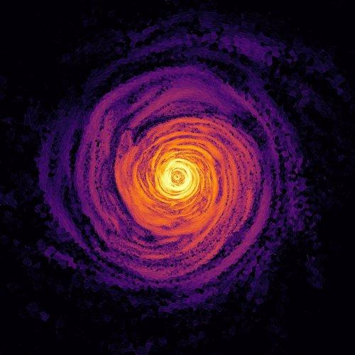 Simulación del origen de un magnetar