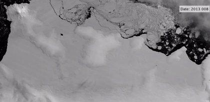 Agua tibia del océano socava las plataformas de hielo de la Antártida