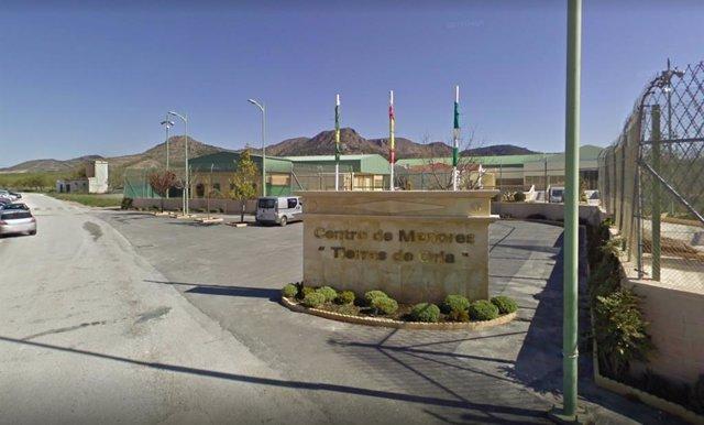 El centro de menores 'Tierras de Oria' de Almería