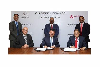 Grupo PSA lanza nuevas soluciones de movilidad en India para apoyar a Citroën