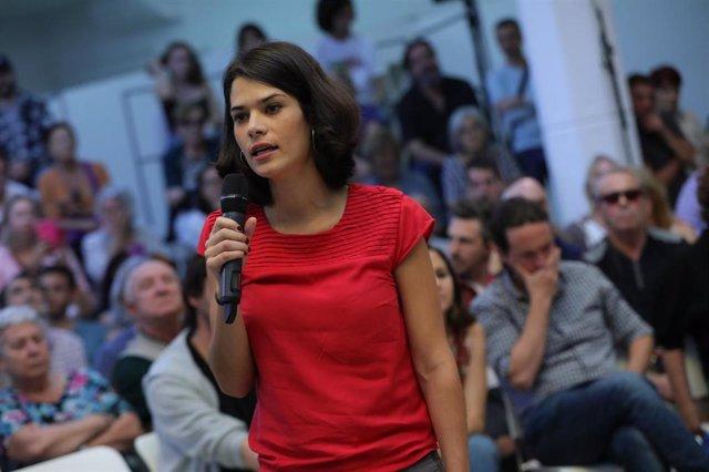 Imagen de recurso de la portavoz de Unidas Podemos Izquierda Unida Madrid en Pie, Isa Serra.