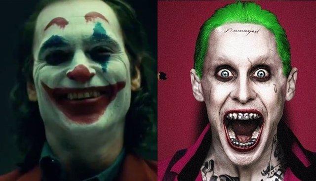 Joker de Jared Leto y Joaquin Phoenix