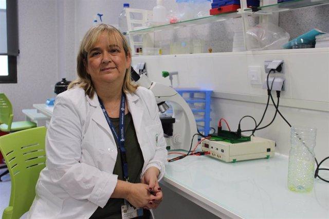 La profesora Miranda, investigadora principal del proyecto