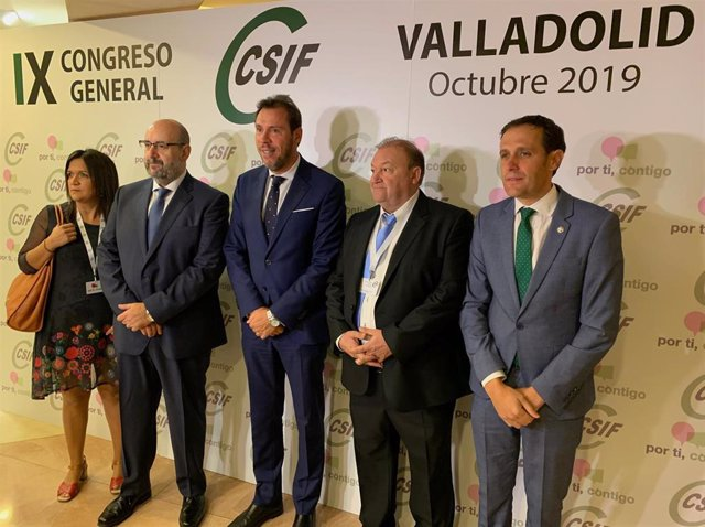 Apertura del IX Congreso Nacional de CSIF en Valladolid.