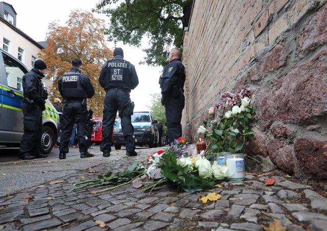 Alemania.- La Policía alemana registra la vivienda del presunto autor del ataque