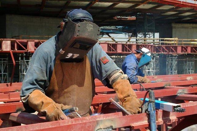 Sector de la construcción, trabajo, paro, empleo.