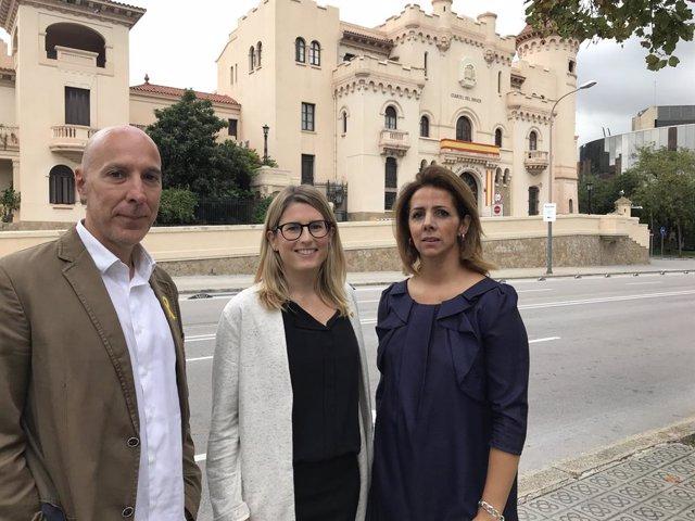 Ivan Condés, Elsa Artadi i Francina Vila