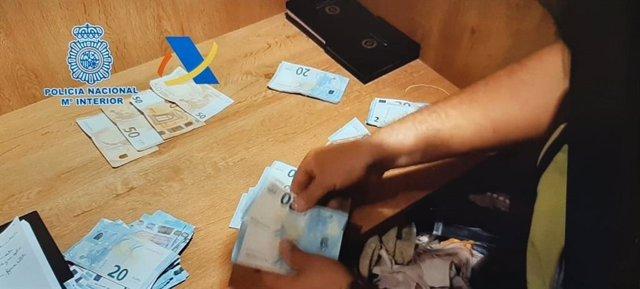 Operación contra el blanqueo de dinero en La Línea