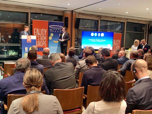 ASPROCAN en el Parlamento Europeo