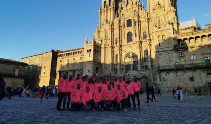 Enimbos recorre el Camino de Santiago para ayudar a la Fundación CurArte