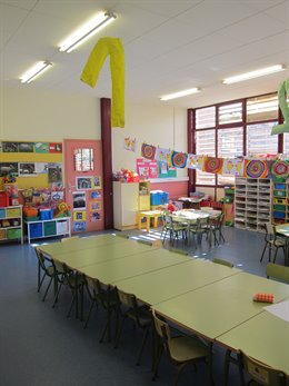 Aula, Classe, Alumnes, Guarderia, Escola, Col·legi, Nens