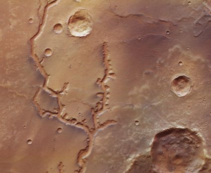 Nirgal Vallis, una reliquia fluvial de 700 kilómetros en Marte