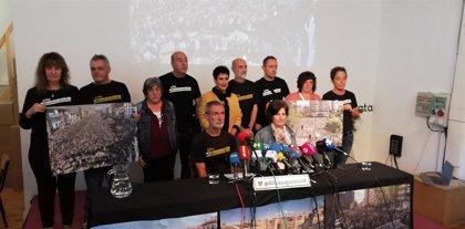 """Familiares de los condenados de Alsasua muestran su """"indignación"""" con la sentencia y prevén recurrir a Estrasburgo"""