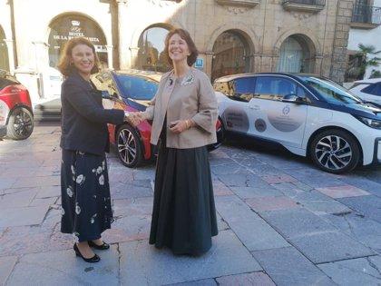 La Fundación Princesa contará con seis vehículos 100% eléctricos para desplazarse en la semana de los premios