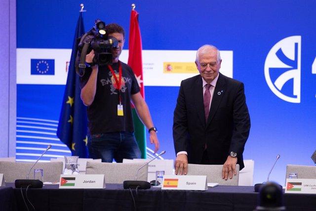 El ministre Josep Borrell en el Fòrum Regional de la Unió pel Mediterrani