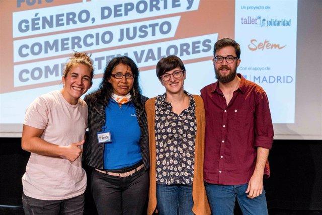 Patricia García defiende los valores del rugby como herramienta social