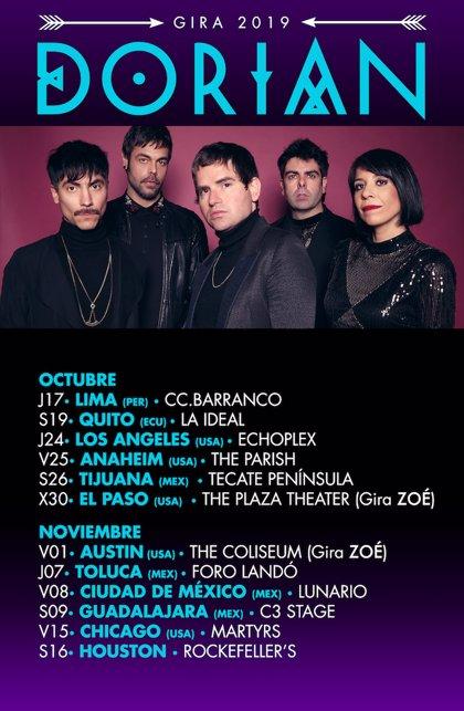 Dorian actúan en Perú, Ecuador, Estados Unidos y México este otoño