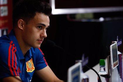"""Reguilón: """"La Eurocopa no me inquieta ahora, sé que hay mucho nivel en el lateral izquierdo"""""""