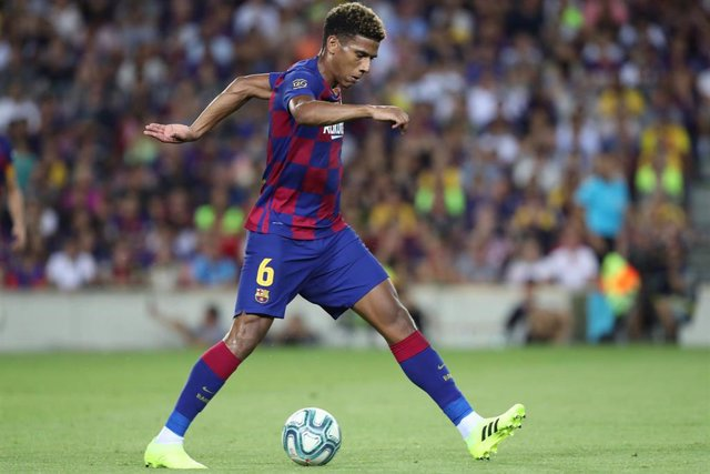 Jean Clair Todibo of FC Barcelona during the Joan Gamper Trophy 2019, football match between FC Barcelona and Arsenal FC on August 04, 2019 at Camp Nou stadium in Barcelona, Spain. - Photo Manuel Blondeau / AOP Press / DPPI