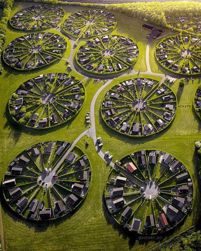 Circle Gardens, Brondby Haeby, Copenhague, Dinamarca